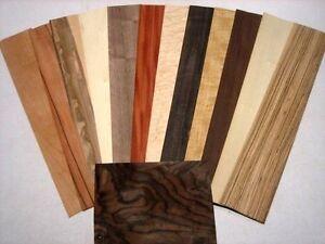 Impiallacciatura 10 tipi d legno trancciati piallacci fogli di legno ebay - Tipi di legno per mobili ...