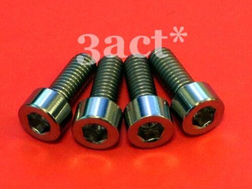 M6 x 15mm Titanium//Ti Bolt fit Shimano XTR Deore Disc Brake Caliper LX XT 4