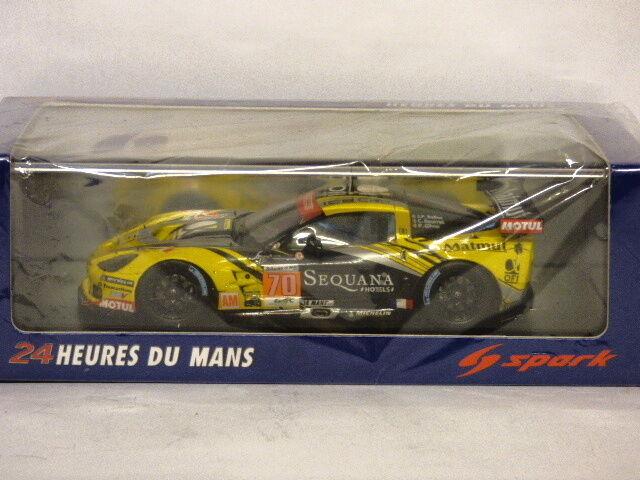 descuento online Spark Corvette C6 ZR1 Le Le Le Mans 2012 Larbre competencia JP Belloc C Bourret P Gibon  entrega rápida