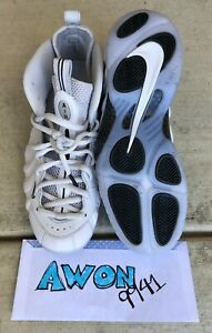 free shipping 80202 31ad1 Details about Nike Air Foamposite Pro AS All Star QS Vast Grey White Black  Size Mens 12. Penny