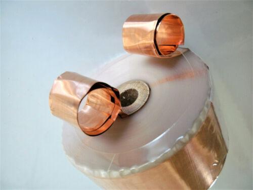 0,60 mH 0,160 Ohm Folienspule Ribbon Coil 1 Audio-Tschentscher CU-F 36 mm