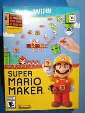 Nintendo SUPER MARIO MAKER for the Wii U SEALED Fast SAME DAY SHIPPING