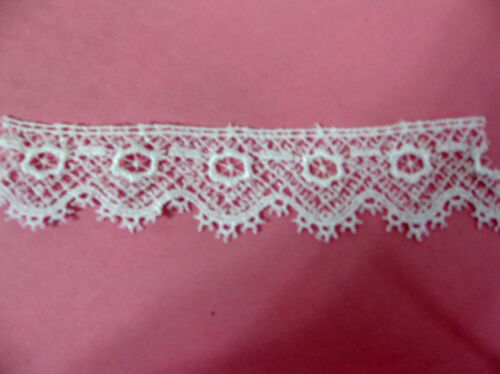 """Guipure Lace Rayon VeniseTrim 1/""""  Scrapbook Lingerie by The yard  Doll #716"""
