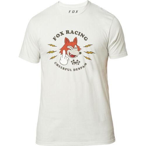Light Grey All Sizes Fox Racing Cheerful Despair Premium Mens T-shirt