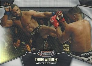 2012 Topps UFC FINEST REFRACTOR TYRON WOODLEY RC - RARE - MINT OR BETTER!!!