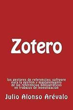 Zotero : Los Gestores de Referencias: Software Para la Gestion y...