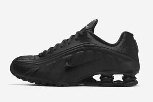 Nike-Shox-R4-Black-Multi-Size-US-Mens-Athletic-Shoes-Casual-Sneakers