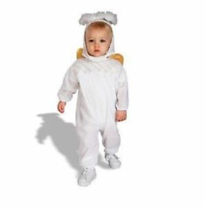 163fc1b67337 RUBIES HEAVENLY ANGEL COSTUME HALO WINGS SIZE INFANT BABY 1-9 mo ...