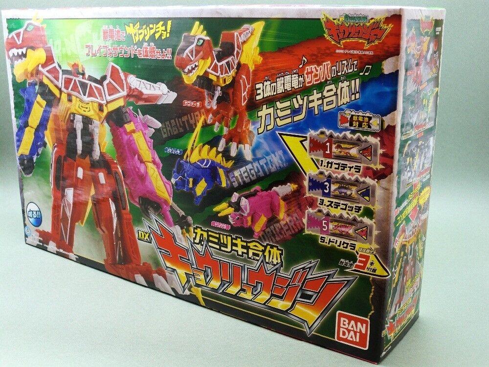 BANDAI DX kyoryujin Dino Cochego Megazord Power Rangers Juden SENTAI KYORYUGER