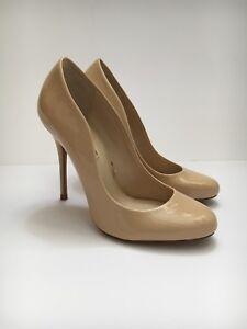 Zara à hauts beige 38 Woman talons Escarpins nude taille ZIZEr