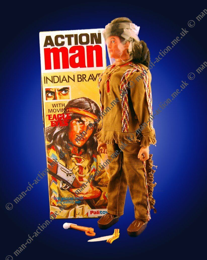 Vintage Action Man Indian Brave 40th anniversary