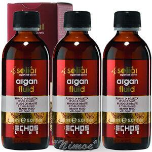 Argan-Precious-Fluid-Leave-in-3-x-150ml-Seliar-Olio-Semi-di-Lino-Proteine-Seta
