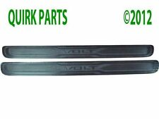 2011-2013 Chevy Volt Front Door Sill Plates Stainless Steel Finish with Logo OEM
