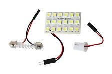 Panel 18 SMD LED Lampe Beleuchtung Innenraum T10 + Soffitte Modul Weiss 12V