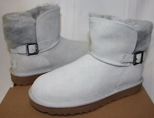 50fbc4bffac Details about UGG Women's Classic Karel Grey Violet Suede boots New With  Box!