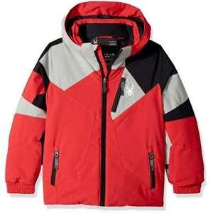 15c7a364a9f66 Details about Spyder Boys Kids Girls Mini Leader Hooded Snow Ski Winter  Cold Weather Jacket