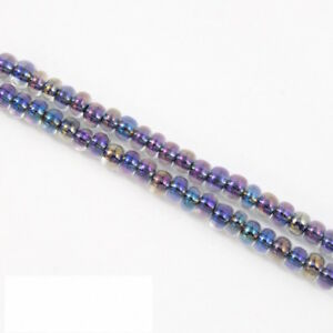 6//0 Hex Japanese seed beads Silver Lined Crystal Glass beads-28Grams