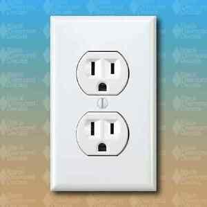 5-PACK-Fake-Wall-Outlet-Plug-Standard-Size-Joke-Funny-Custom-Vinyl-Decal-Sticker
