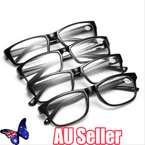 bc1b008a860 Image is loading Mens-Ladies-Frame-Magnifying-Reading-Glasses -Nerd-Spectacle-