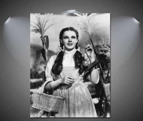 A2 A1 A4 sizes Judy Garland Vintage Wizard of Oz Movie Shot Poster A3