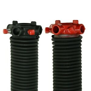 25 Pair of 207 X 1 3//4 X 21-33 Garage Door Torsion Springs with Winding Bars