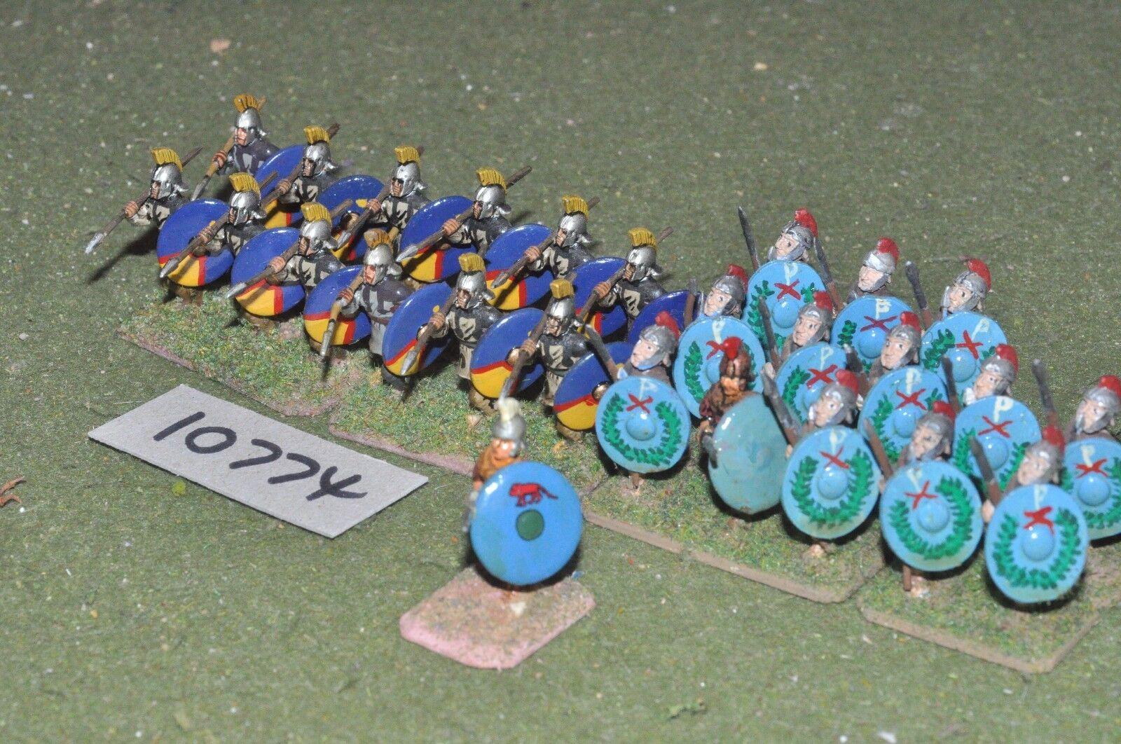 25mm roman era   roman - infantry 24 figs - inf (10774)