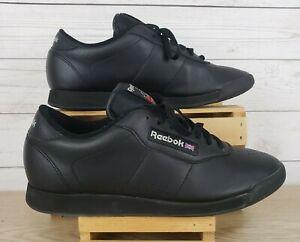 Reebok-Classic-Princess-Tennis-Athletic-Shoes-Womens-Size-9-Black-7344
