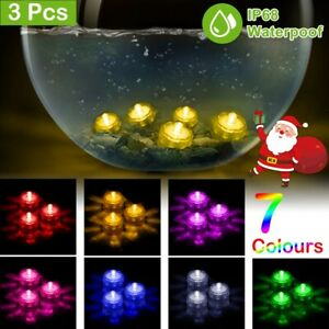 12-24-36-LED-Vase-Tea-Light-Candles-Submersible-Waterproof-Wedding-Party-Decor