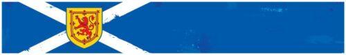 """24/"""" Vinyl trim Scotland Scottish flag strip sticker decals hood bumper  car"""