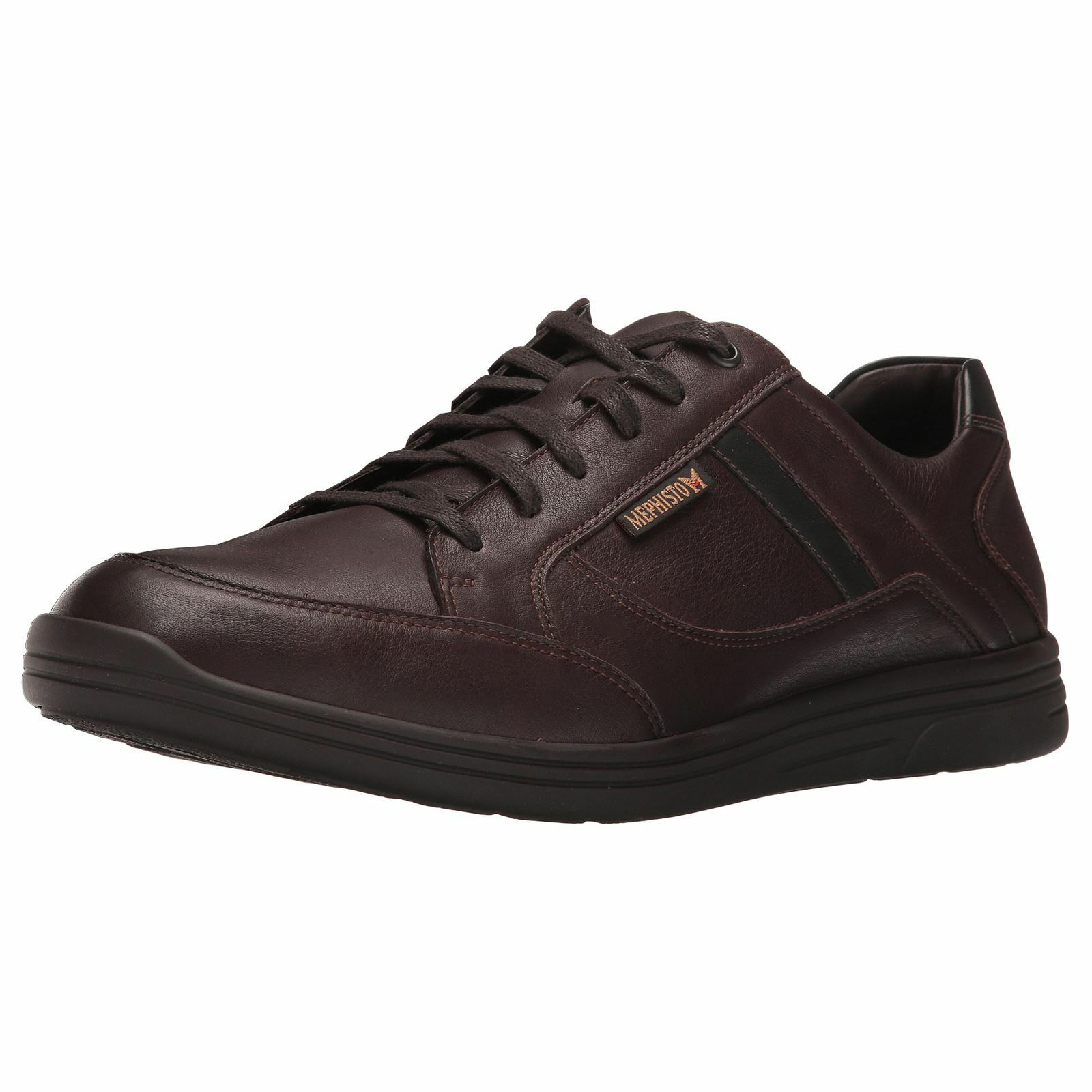 Mephisto Frank Dark braun Mens Comfort Trainers Smooth Leather