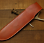 knife-blade-sheath-cover-scabbard-case-bag-cow-leather-customize-brown-Z1016 thumbnail 2