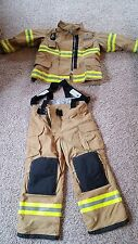 Firefighter bunker gear. Veridian Limited turnout jacket and pants.