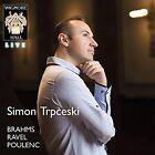 Simon Trpceski Brahms Ravel Poulenc (us Import) CD
