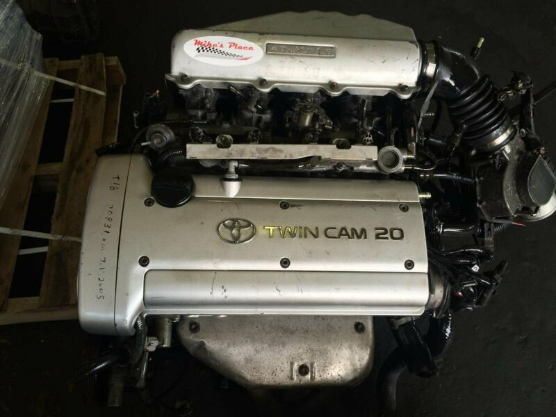 Toyota 4AGE 20V Silvertop Engine for sale at Mikes Place