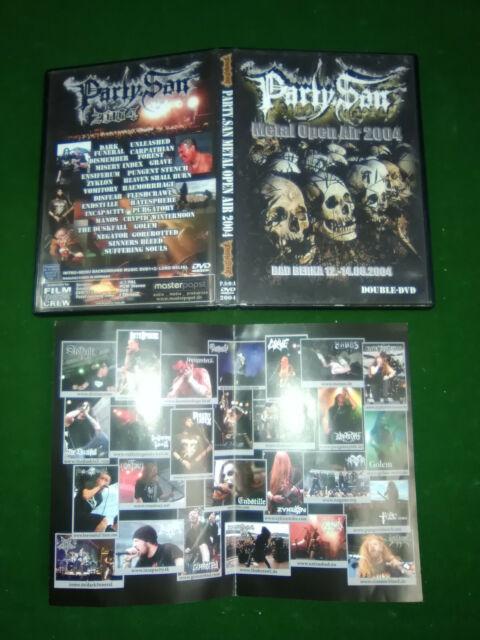 Party San Festival  2004 - 2 DVD  Partysan Metal Festival Party-San 2004