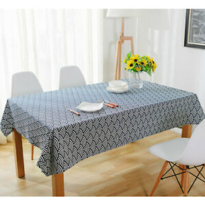 1Pc Bronzing Dot Tablecloth Dining Table Decor New Modern Printed Table Cloth N3