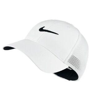 5d41a2463d9 NEW Nike Swoosh Logo Golf Mesh Cap Adult Unisex Size L   XL 727031 ...