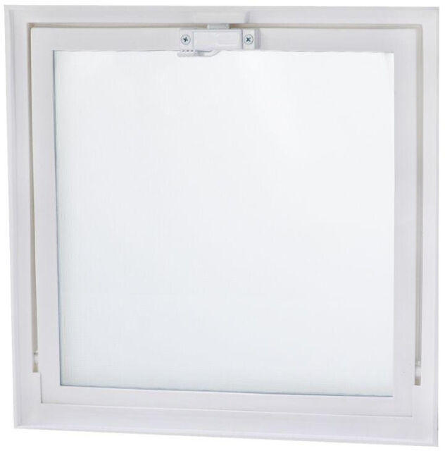 Basement Hopper Vent Screen Window Lock Ventilation Seal