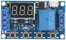 Dc 6 30v Cycle Delay Timer Switch Led Display Delay Onoff Relay Module Trigger