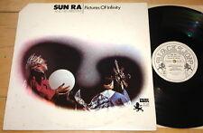 SUN RA & HIS ARKESTRA ~ PICTURES OF INFINITY ~ USA BLACK LION PROMO LP 1981 JAZZ