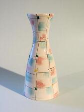 50er Jahre Vase von ULMER KERAMIK Form 139/2 (21 cm) - hübsches Dekor!