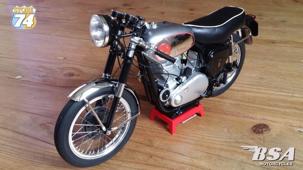 BSA orostar Clubman 1956 Motocicleta modelo de escala 1 6 De Alta Calidad