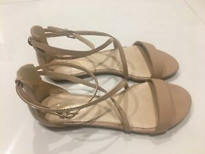 Details about Nine West Size 6 Nude Dollface Sandals