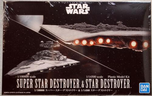Star Wars Super Star Destroyer /& Star destroyer Bandai  5057712 neu 2020