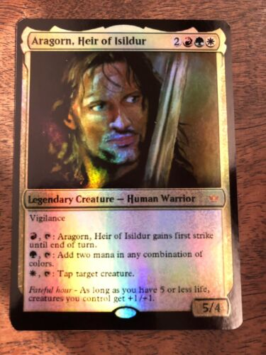 Aragorn Isildur Heir Magic The Gathering MTG Planeswalker Lord Of The Rings LOTR