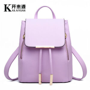 Women S Trendy Students Shoulder Bag Backpack Casual Korean Handbags