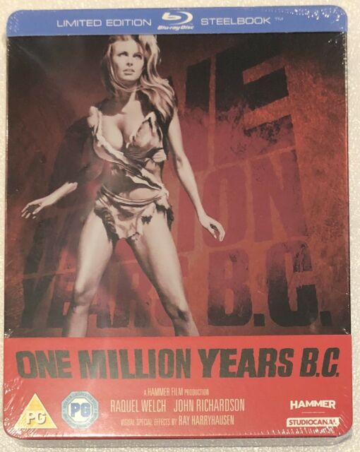 One Million Years B.C. Steelbook - UK Exclusive Limited Edition Blu-Ray