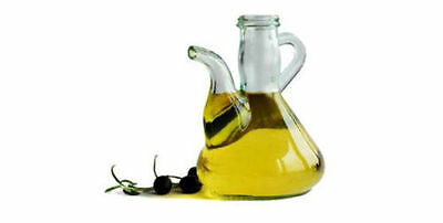500ml 2x Hand Made Olive oil Glass Bottle alcuza decanter Cork Stopper