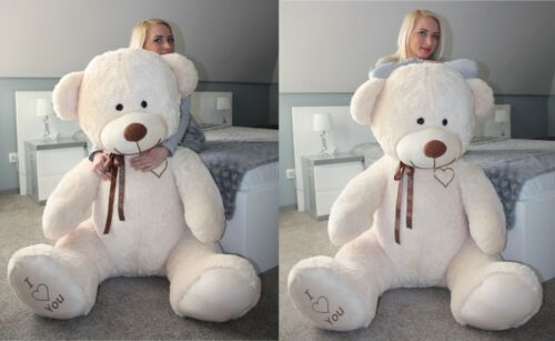 Teddybär 190 cm BIG XXL Riesen Kuscheltier Stofftier Plüschtier VALENTINSTAG /<3