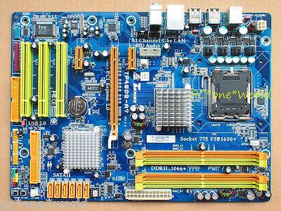 BIOSTAR TP45D2-A7 Motherboard skt LGA775 DDR2 Intel P45